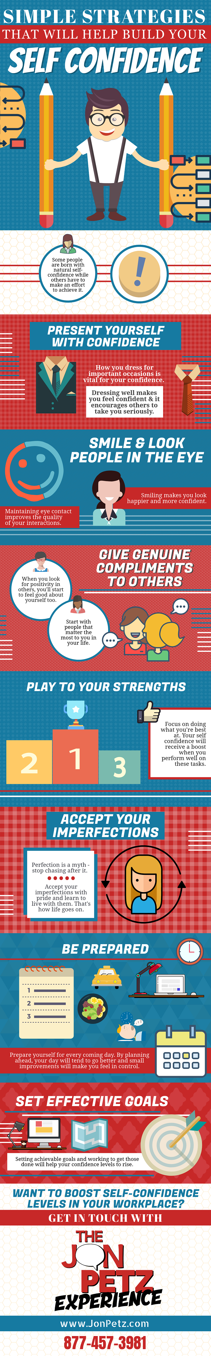 Infographic: Simple Strategies That Will Help Build Your Self Confidence